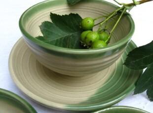 日韩恋歌*若叶/日式和风陶瓷小碗/碗/陶瓷碗/日式碗/米饭碗,碗盆,