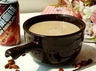 ZAKKA/美式乡村/LONGABERGER陶瓷餐具/带手柄早餐牛奶咖啡碗/面碗,碗盆,