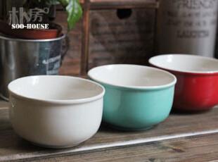 朴房° Zakka 我喜欢你是寂静的°陶瓷小碗/米饭碗/汤碗 三款可选,碗盆,