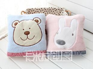 康乐屋蓓蕾布艺系列 靠垫被空调毯抱枕被卡通毯子小熊毯,空调毯,