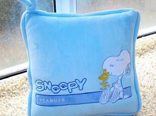 特价卡通可爱史努比狗空调毯抱枕两用空调被创意情侣生日礼物,空调毯,