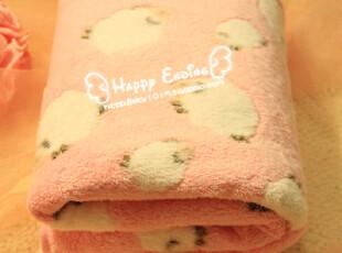 A.M正品超柔可爱空调毯 午睡毯珊瑚绒毯空调被盖毯披肩毯 毛巾被,空调毯,