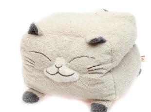 好品质ほんやら堂 灰猫可插手暖手套 含毛毯 4336 0.6kg,空调毯,