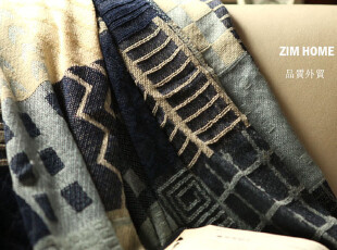 ZIM HOME 外贸雪尼尔桌布 沙发巾 休闲毯 床罩床盖夏被空调被,空调毯,