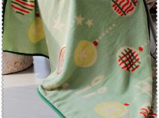 乡村之纯*圣诞派对毛毯*珊瑚绒毯 盖膝 午睡毯 空调毯,空调毯,