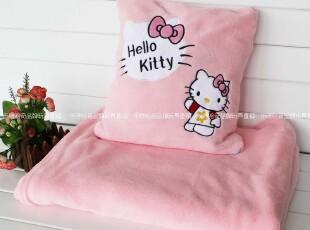包邮超实用 可爱凯蒂猫kity猫咪空调被空调毯 公仔抱枕娃娃礼物,空调毯,