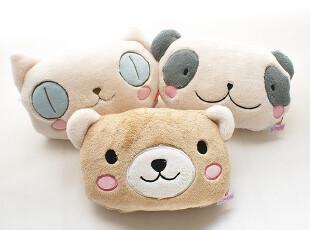 10200 日_单Ts factory靠垫空调毛毯子两用●卡通大眼猫熊狗,空调毯,