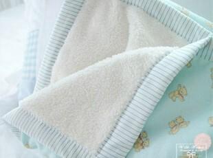 韩国进口儿童小毛毯 婴儿珊瑚绒保暖毯 盖毯/包毯(3色),空调毯,