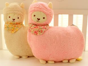 可爱~日本养生堂羊驼空调毯 珊瑚绒毯 羊驼收纳包+毯子,空调毯,