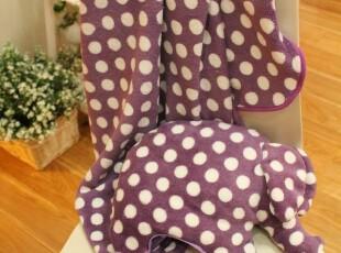 米西公主 大象 抱枕 毛绒玩具 空调毯 毛毯 宝宝毯 一物多用 礼物,空调毯,