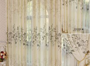 【帘帘有余】简约大气厚重棉麻亚麻窗帘窗纱客厅卧室窗帘定做,窗帘,