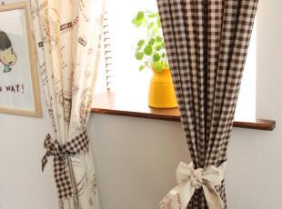 zakka 乡村 田园风 棉麻窗帘 庭院系列,窗帘,