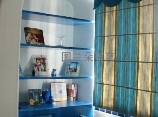 地中海窗帘,罗马帘,另可定做飘窗垫,靠垫★实景拍摄,窗帘,