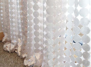 【KOREA HOUSE】韩国最新流行镂空剪花高档窗帘dr-001*,窗帘,