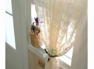 韩国进口 定做 绣花蕾丝窗纱 窗帘门帘 隔断帘 装饰帘,窗帘,