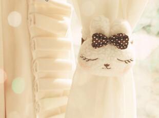 ♥超可爱の毛绒熊猫小兔窗帘扣♥PH,窗帘,