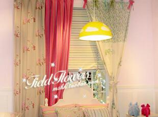 森林的秘密 韩式风格/可爱卡通/儿童房精致贴布绣花布/窗帘定做,窗帘,