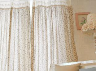『韩国网站代购』生活,可以如此恬静 清雅烂漫烟花蝴蝶结窗帘,窗帘,