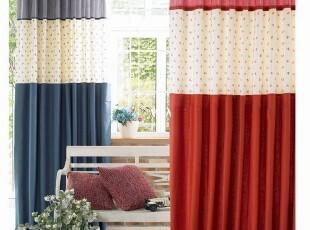 〓持家太太〓韩国家居*田园*韩国品牌组合窗帘BL08(2色),窗帘,