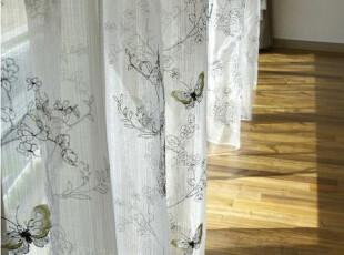 『韩国网站代购』迷魂计 活色生香的花影蝴蝶窗帘,窗帘,