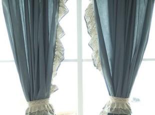 乡村棉布窗帘/田园窗帘定制/美式乡村窗帘/地中海 窗帘,窗帘,
