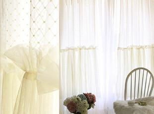 『韩国网站代购』放下翅膀 风中摇曳华美裙摆蕾丝窗帘|定做款,窗帘,