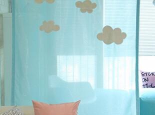 ★公主梦想★韩国家居*家里的蓝天白云*清新风格隔断帘窗帘M1924,窗帘,