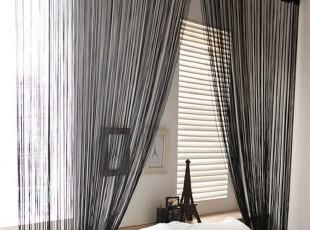 韩式线帘 门帘 隔断 玄关 特价 1米起卖 窗帘 加米 多色 最重,窗帘,