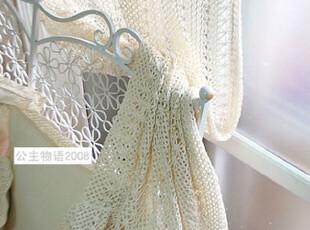 『韩国网站代购』日系优雅田园味道 温情古朴棉蕾丝窗帘|定做款,窗帘,
