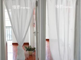 [慢素mansu]问佛。日单自然风棉麻窗帘门帘飘逸白纱帘 定做定制,窗帘,