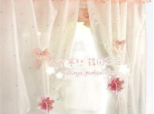 ★公主梦想★*在韩国定做*唯美的蝴蝶结*装饰纱帘 M1845,窗帘,