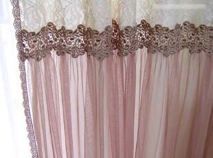 『韩国网站代购』修姆的淡茶香 古董蕾丝经典奢华花边窗帘,窗帘,