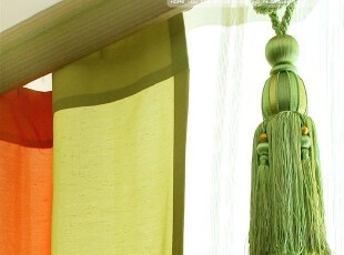 〓持家太太〓韩国家居*韩国窗帘挂件/窗帘装饰品/窗帘穗MH90075,窗帘,