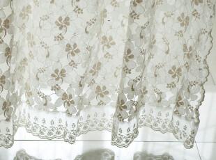 【3米家】棉质蕾丝窗帘定制/美好绽放/花朵纱帘,窗帘,