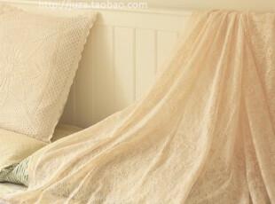 直供日本纯棉网纱  窗帘桌布衣料床幔布料 50*145,窗帘,