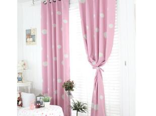 【Asa room】韩国窗帘进口 儿童粉色遮光成品卧室 k387-p,窗帘,