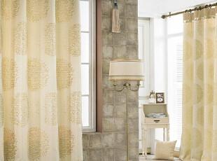 【Asa room】韩国窗帘代购进口 高档客厅卧室半遮光窗帘 k356-g,窗帘,
