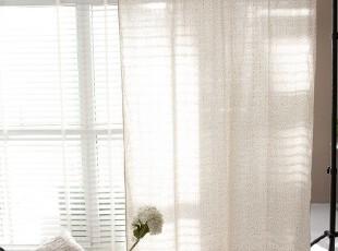 【3米家】美好绽放/碎花窗帘/麻质布艺定制,窗帘,