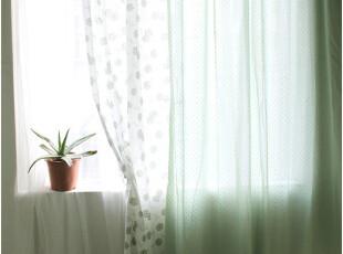 [慢素mansu]枇杷调。薄款纯棉拼布窗帘  定制定做,窗帘,