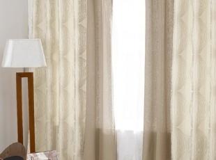 【Asa room】韩国窗帘代购进口 高档成品卧室客厅半遮光 k423-br,窗帘,