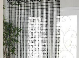 『韩国网站代购』舞动的浪漫 片片树叶线帘/门帘/挂帘,窗帘,