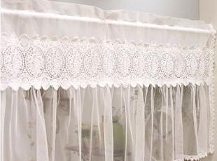 现货!韩国进口代购蕾丝白色 小挂帘/门帘 小窗帘 MH0-05(定做),窗帘,