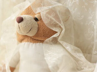 直供日本蕾丝网纱 华丽花柄窗帘布料(50*124cm)重磅推荐 团购,窗帘,