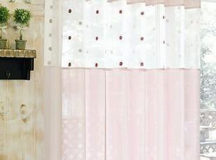 韩国进口代购 粉色甜美公主窗帘/客厅 卧室窗帘 可定做,窗帘,