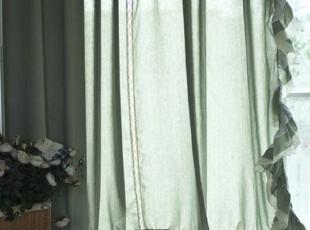 【3米家】麻质窗帘布艺 & 美式乡村风格窗帘布艺& 质朴亚麻,窗帘,