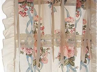 『韩国网站代购』普罗旺斯 玫瑰&新浪漫主义风格窗帘,窗帘,