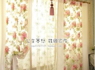 ★公主梦想★在韩国定做*繁花*浪漫花朵装饰窗帘套装*C1235,窗帘,