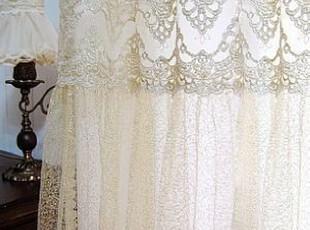 韩国进口代购 奢华高雅金色点点窗帘客厅窗帘 纱帘 可以定做,窗帘,