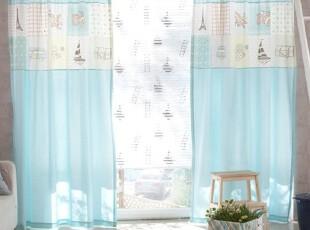 【Asa room】韩国窗帘代购进口 卡通客厅卧室长款半遮光 k405-m,窗帘,