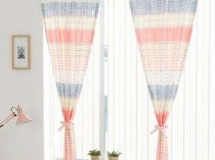 【Asa room】韩国窗帘代购进口短款公主粉色成品卧室半遮光k416-p,窗帘,